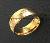 Anello del tungsteno dei monili placcato oro di alta qualità dei monili di Shineme (TST2838)
