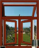 Windows를 이중 유리를 끼우는 알루미늄 여닫이 창 Windows 열 틈