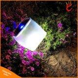 Het waterdichte het Kamperen van de ZonneMacht van pvc 10LED Vouwbare Opblaasbare Licht van de Lantaarn voor de Binnen het Kamperen van de Noodsituatie Verlichting van de Wandeling
