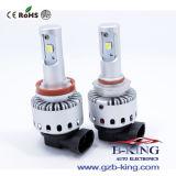 새로운 8000lm 플러그 & 실행 DIY H11 LED 헤드라이트