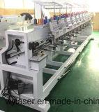 Máquina automatizada comercial del bordado de la aguja multi principal 10