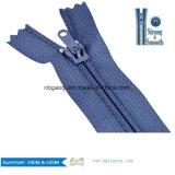 Alta qualidade 3 # fecho de nylon impermeável para vestuário de calçado