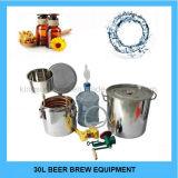 Оборудование заваривать пива горячего чайника Brew ферментера домочадца нержавеющей стали 30L сбывания микро-