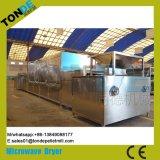 Equipamento industrial de esterilização por secagem por tomota de microondas