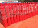 Bombola per gas di lotta antincendio dell'acciaio senza giunte con la capienza differente