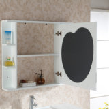 Vanité blanche de salle de bains en bois solide de type moderne