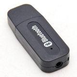 Переходника 3.5mm приемника нот USB Bluetooth тональнозвуковой стерео для автомобиля вспомогательного в домашнем дикторе
