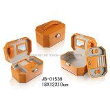 주황색 가죽 승진 선물 보석 저장 상자 보석함