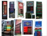 "7mm 화소 12 디지털 8개의 "" 8.889/10 수 LED 가스 또는 기름 또는 휘발유 역 가격 전시 표시 널 스크린"