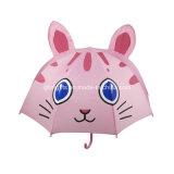 190t 폴리에스테 피복과 3D 토끼 모양, 측정을%s 가진 아이의 자동적인 우산 45cm X 8k