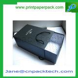 주문 고품질 t-셔츠 의복 포장 서랍 유형 가발 & 모발 제품 포장지 선물 상자