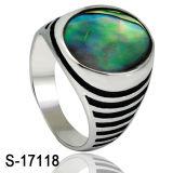 Imitatie Juwelen 925 Echte Zilveren Ring voor de Mens