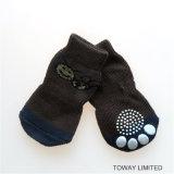 Design Personnaliser des chaussettes pour animaux de compagnie Basiques tricotant des chaussures antidérapantes pour chien