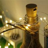 le rotin étoilé féerique imperméable à l'eau multifonctionnel de chaîne de caractères de l'atmosphère d'arbre de Noël allume le fil de tonnelier