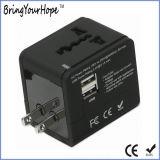 Adattatore universale di corrente alternata Con il caricatore doppio del USB (XH-UC-026)