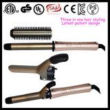 OEM ODM 3 em 1 estilo Combinador de cabelo intercambiável