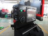 Maquinaria inferior plateada de metal del freno de la prensa del CNC del mecanismo impulsor de la hoja serva electrohidráulica de Tr3512 Amada