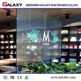 P3.75/P5/P7.5/P10/P16/P20 a todo color transparente/pantalla de visualización video del vidrio/ventana LED/muestra/pared para hacer publicidad