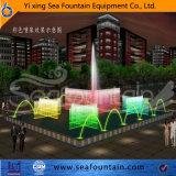 Fabricante decorativo de la fuente de la música del parque material Ss304