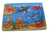 Головоломка деревянной игрушки коренастая деревянная (33329)