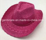 Sombrero de Paja de papel colorido Hat (SH12).