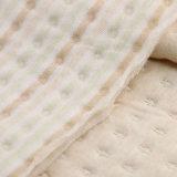 Tissu en coton organique en coton Jacquard en tissu bio pour vêtements d'hiver