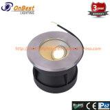 Nouvelle lumière légère LED 6W COB lumière souterraine en IP67