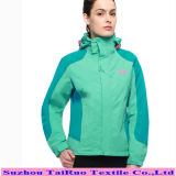 Tissu de nylon taslon étanche pour l'extérieur vers le bas la preuve de vêtements de sport