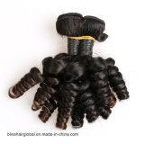 Glücks-Haar-peruanischer Haar Movado Rotation-Menschenhaar-Einschlagfaden 100%
