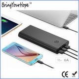 16000mAh QC 3.0 Banque d'alimentation de charge rapide avec trois ports USB (XH-PB-133)
