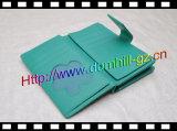 Бумажник PU флористической печати повелительниц кожаный