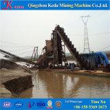 Fluss-Sand-Ausbaggernund Pflege-Becherkette-Goldbagger