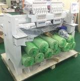 2 het hoofden Geautomatiseerde Embroidery Machine Do GLB Tshirt Vlakke Pu DwarsEmbleem van de Steek