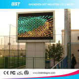 Desempenho de alta qualidade P10 a cores de LED de exterior grande painel de vídeo para a Publicidade