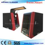máquina de la marca del laser de la fibra de 10W 20W 30W para la luz de Lamp/LED