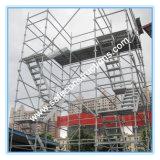Coffre-fort SGS Système Kwikstage approuvé pour la construction d'Échafaudage