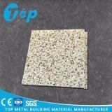 屋内天井のためのパネルの石造りの穀物のアルミニウム単一のホック