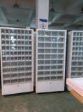 Dispensateur de billets et de billets à pièces avec casiers