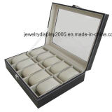Brand New Watch Box 12 Grids PU Leather