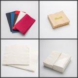 Serviette de papier de vente en gros d'usine de Changhaï serviette de dîner de 2 plis
