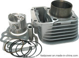オートバイのエンジン部分、シリンダーセット