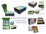 Venta al por mayor de empaquetado del rectángulo de papel del regalo del té colorido del OEM