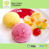 L'olio di noce di cocco grasso della polvere ha basato la verdura per il gelato
