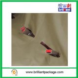 Khaki Bench Pet Seat Cover com inclinação de couro