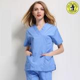 L'OEM entretiennent le coton professionnel médical frotte des modèles uniformes d'hôpital d'infirmière