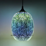 Indicatore luminoso dell'interno decorativo 2017 nuovo 3D che appende lampada Pendant