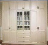 カスタマイズされたヨーロッパ式PVC Vavumnワードローブの戸棚(MOQ= 1のセット)