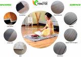Plancher de verrouillage enduit UV de vinyle de PVC WPC de matériau de construction