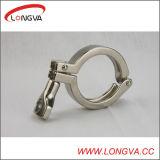 Abrazadera de acero sanitaria de Triclover