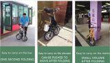 卸売のための2つの車輪の小さい折りたたみの電気バイク